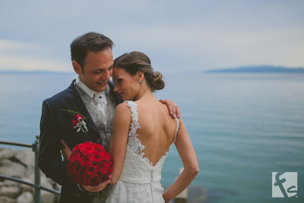 Opatija wedding cinematography - Manuela + Francesco, Croatia